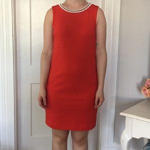 Red Cynthia Rowley knee-length dress
